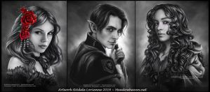 Commission Portraits -Set 8 by Saimain