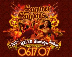 summer sundays mini flyer by fnnyman88