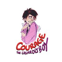 Courage, the cowardly boy. by Neo-N