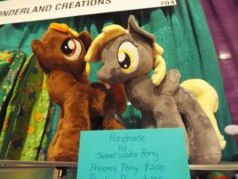 ( MLP ) Derpy Hooves and Button Mash Plushies! by KrazyKari