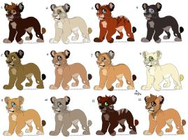 Cub Adopts CLOSED by MikacesAdopts