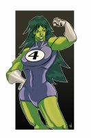 She HULK by sumonte