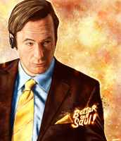 Better Call Saul - Saul Goodman by p1xer