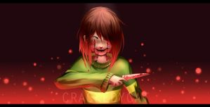 * Welcome to my special hell. - Glitchtale by crackedycat