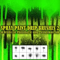 Texturemate-SprayPaintDrip02 by AscendedArts