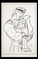 My favourite disney couple by Dean-Irvine