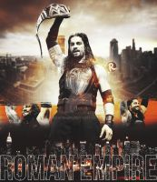 Roman Reigns by Rawishbk