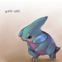 no. 443: gible by angitsai
