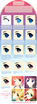 lEdogawa's Anime Eye Tutorial by lEdogawa