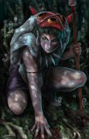 Princess Mononoke by MattDeMino