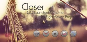 Closer GO LauncherEX Theme by maciej-pl