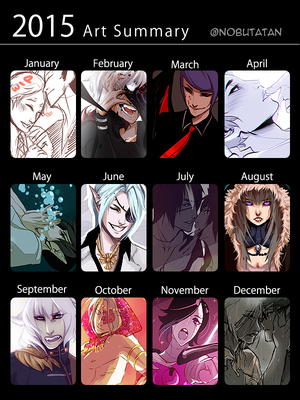 Art Summary of 2015 by Nobutani