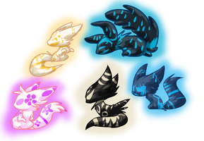 .:Themed Nicron Adopts--CLOSED:. by FlamesVoices