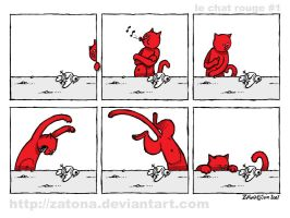 Le chat rouge - 1 by Zatona
