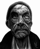 Old Homeless Man by oMimic