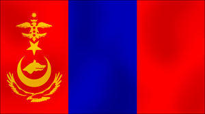 Alt. Turkic Flag like mongol by AY-Deezy