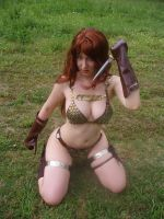 Red Sonja Dagger by aichan25
