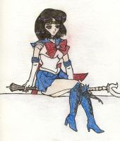Super Sailor Saturn by DU-hockeygirl40