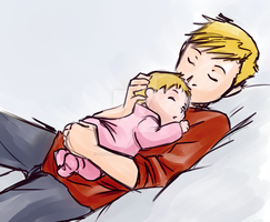 Fullmetal Alchemist: Fatherhood by Perfectlykawaii93