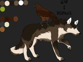 Leap and Distance ref. by Snowfirewolf