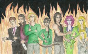 The Hunger Games by Maiasm