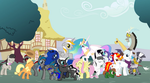 friends of equestria by Shadowblazer3