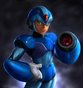 MegaMan X Revived by Cyruscloud
