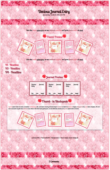 Pink Flower Journal by Inconcabille