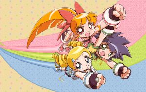 Powerpuff Girls Z Wallpaper by lookatthesea