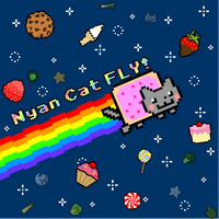 Nyan Cat FLY -Box Art by krangGAMES