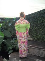 Backof Japanese maiden costume by Celtic-Dragonfly