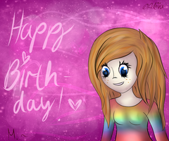 Birthday Gift for a friend. (: by Arkiva