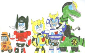 Team Bee G1 Style by SithVampireMaster27