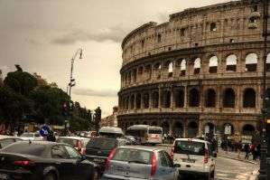 Rome: past and present by LPeregrinus