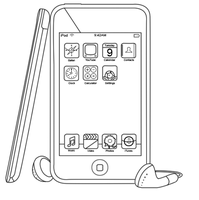 iPod Touch Outline