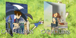 The Cat Returns Double Icons by ozzi9816