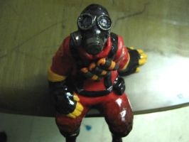 Clay Pyro by GasMaskMonster