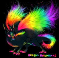 Dragon Hatchling for TayLeOwl by TheFireGypsy