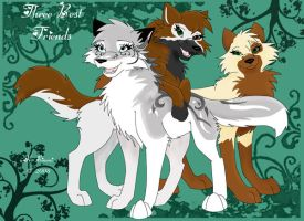 Three Best Friends by Galaxys-Most-Wanted
