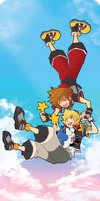 Gravitate: Sora/Ventus by Thingamajica