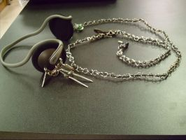 Armor chain mail headphones1 by black-shaddow-walker