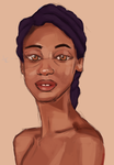 Portrait of a girl. by L0ni