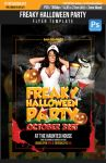 Freaky Halloween Party Flyer Template by SanGraphics