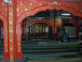 The Niujie Mosque - Worship Hall 2 by Nayzak