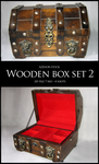 Wooden Box Set 2 by Azenor-stock