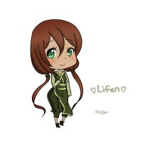 AR Lifen Chibi For Naielle by RuRu-Rika