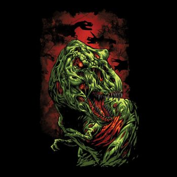 Jurassic Zombie by Design-By-Humans