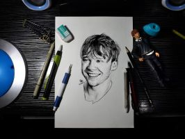 Rupert Grint by Williaaaaaam