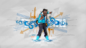 T-pain Wallpaper (Vol.2) by destroyer53