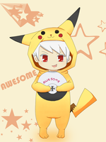 Hetalia -Awesome Pika by BritKatStar